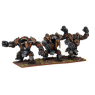 Kings of War: Abyssal Dwarfs - Lesser Obsidian Golem Regiment