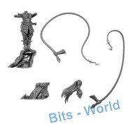 WARHAMMER BITS - DARK ELVES KHARIBDYSS/HYDRA - BEASTMASTER on ROCK