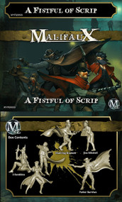 Malifaux: Outcasts - A Fistful of Scrip (Parker Crew)