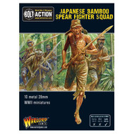 Bolt Action: Japanese Bamboo Spear Fighter Squad