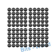 WARHAMMER 40K BITS: 25mm ROUND SLOTTED BASES - 25mm ROUND SLOTTED BASES x100