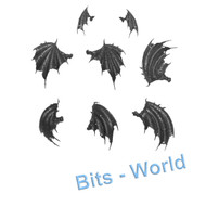 WARHAMMER BITS - VAMPIRE COUNTS CRYPT HORRORS / VARGHEIST - 3x WINGS