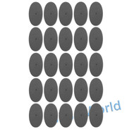 WARHAMMER 40K BITS: 60x35mm Oval Bases - 60x35mm OVAL BASESx25