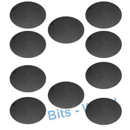 WARHAMMER 40K BITS: 120x92mm Oval Bases - 120x92mm OVAL BASES x10