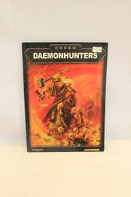 DAEMONHUNTERS CODEX WARHAMMER 40,000 40K 3RD EDITION GAMES WORKSHOP GW (U-B3S5 183552)