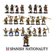 Blood & Plunder: Spanish Nationality Set