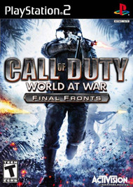 Call of Duty World at War Final Fronts (Playstation 2) - LOOSE