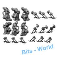 WARHAMMER 40K BITS: SPACE MARINES PRIMARIS INCEPTORS - LEGS X3