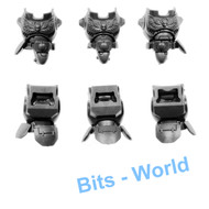 WARHAMMER 40K BITS: SPACE MARINES PRIMARIS INCEPTORS - BODIES X3