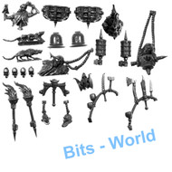 WARHAMMER BITS: VAMPIRE COUNTS CORPSE CART - ACCESSORIES