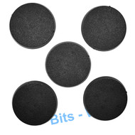 WARHAMMER 40K BITS: CHAOS SPACE MARINES BLIGHTLORDS - 40MM ROUND BASES X5