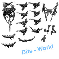 WARHAMMER BITS: ORCS & GOBLINS SPIDER RIDERS - UPGRADES & ACCESSORIES