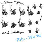 WARHAMMER BITS: ORCS & GOBLINS FOREST GOBLIN SPIDER RIDERS - GOBLINS X10