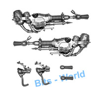 WARHAMMER 40K BITS: CHAOS SPACE MARINES FOETID BLOAT-DRONE - PLAGUESPITTERS X2