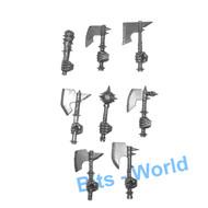 WARHAMMER BITS: BEASTMEN MINOTAURS - HAND WEAPONS X8