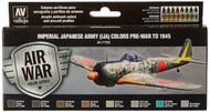 Vallejo Paints: Air War Colors: Imperial Japanese Army (IJA) Colors