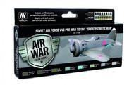 Vallejo Paints: Air War Colors: Pre-War To 1941 - Great Patriotic War