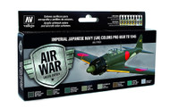Vallejo Paints: Air War Colors: Imperial Japanese Navy (IJN) Colors