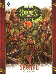 Hordes: Accessories - Forces of Hordes - Skorne Command (Hardcover)