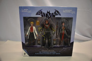 Batman Arkham Origins Electrocutioner Harleen Quinzel & Lady Shiva (Sealed) (U-B2S2 196607)
