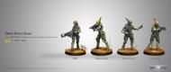 Infinity: Mercenaries - Druze Shock Teams