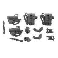 WARHAMMER 40K BITS: SPACE MARINES DEVASTATOR SQUAD - MISSILE LAUNCHERS 2X