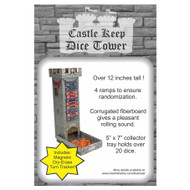 Castle Keep RPG: Dice Tower with Magnetic Turn Tracker