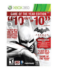 Batman: Arkham City Game Of The Year (Xbox 360) - LOOSE