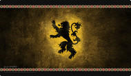 House Lannister Playmat (HBO Edition)