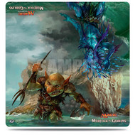 Ultra PRO: Magic the Gathering: Duel Decks Play Mat - Merfolk vs Goblin