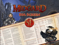 5E: Midgard DM Screen
