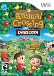 Animal Crossing City Folk (Wii) - LOOSE