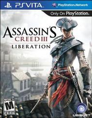 Assassin's Creed III: Liberation (PlayStation Vita) - LOOSE