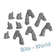 WARHAMMER 40K BITS: HORUS HERESY CATAPHRACTII TERMINATORS - LEGS X5