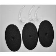 WARHAMMER BITS: IDONETH DEEPKIN Akhelian Guard - 60x35mm Oval Bases x3