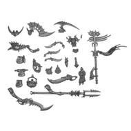 WARHAMMER BITS: IDONETH Akhelian Guard - Command/Banner/Musician& Accessories