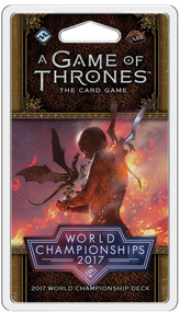 Board Game Fantasy Flight Games: A Game Of Thrones Lcg - World Championships 2017 Deck