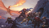 Board Game Fantasy Flight Games: The Lord Of The Rings Lcg - On The Doorstep Playmat