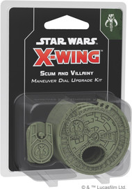 Star Wars X-Wing: 2nd Ed: Scum And Villainy Maneuver Dial Upgrade Kit *PreOrder*