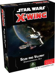 Star Wars X-Wing: 2nd Ed: Scum And Villainy Conversion Kit *PreOrder*
