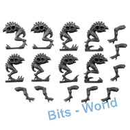 WARHAMMER 40K BITS: TYRANID GENESTEALERS - TORSOS AND LEGS 8X