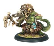 Hordes: Minions - Calaban, The Grave Walker - Gatorman Warlock
