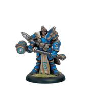 "Cygnar: Major Markus ""Siege"" Brisbane - Warcaster"