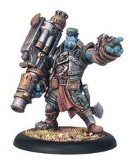 Hordes: Trollbloods - Captain Gunnbjorn - Trollkin Warlock