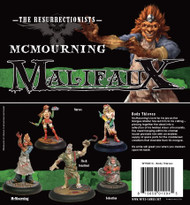 Malifaux: Resurrectionists - Body Thieves (McMourning) Box Set