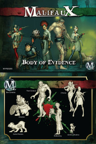 Malifaux: Resurrectionists - Body of Evidence - McMourning Crew Box Set