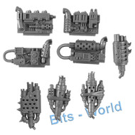 WARHAMMER 40K BITS - ORK DEFF DREAD - ENGINE & EXHAUST