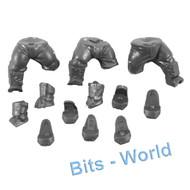 WARHAMMER 40K BITS - ASTRA MILITARUM BULLGRYNS/OGRYNS - LEGS 3x