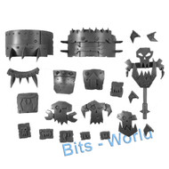 WARHAMMER 40K BITS - ORK DEFF DREAD - SHOULDER PADS & ACCESSORIES