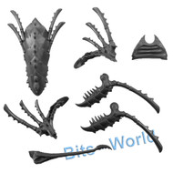 WARHAMMER 40K BITS: TYRANID TRYGON/MAWLOC - MAWLOC UPGRADE for HEAD